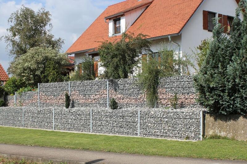 Cum Lapis Die Gitter-Stein-Wand
