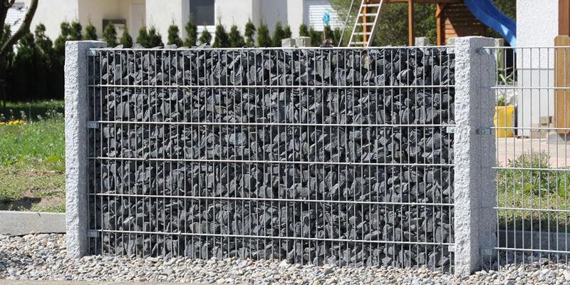 Stelenmodul Cum Lapis Die Gitter Stein Wand